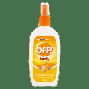 REPELENTE SPRAY OFF! FAMILY FRASCO 200ML