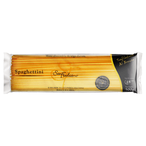 Macarrão de Sêmola Grano Duro Espaguete 4 San Frediano 500g