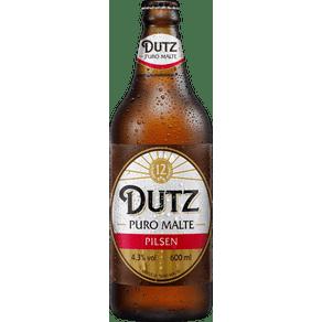 Cerveja Puro Malte Pilsen Dutz 600ml